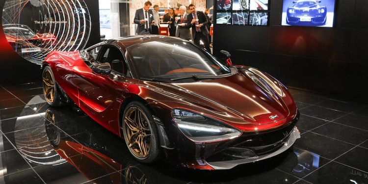 McLaren se lució con su edición especial 720S Velocity
