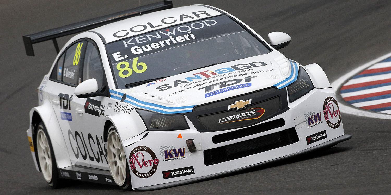 Esteban Guerrieri vuelve al WTCC con Campos Racing