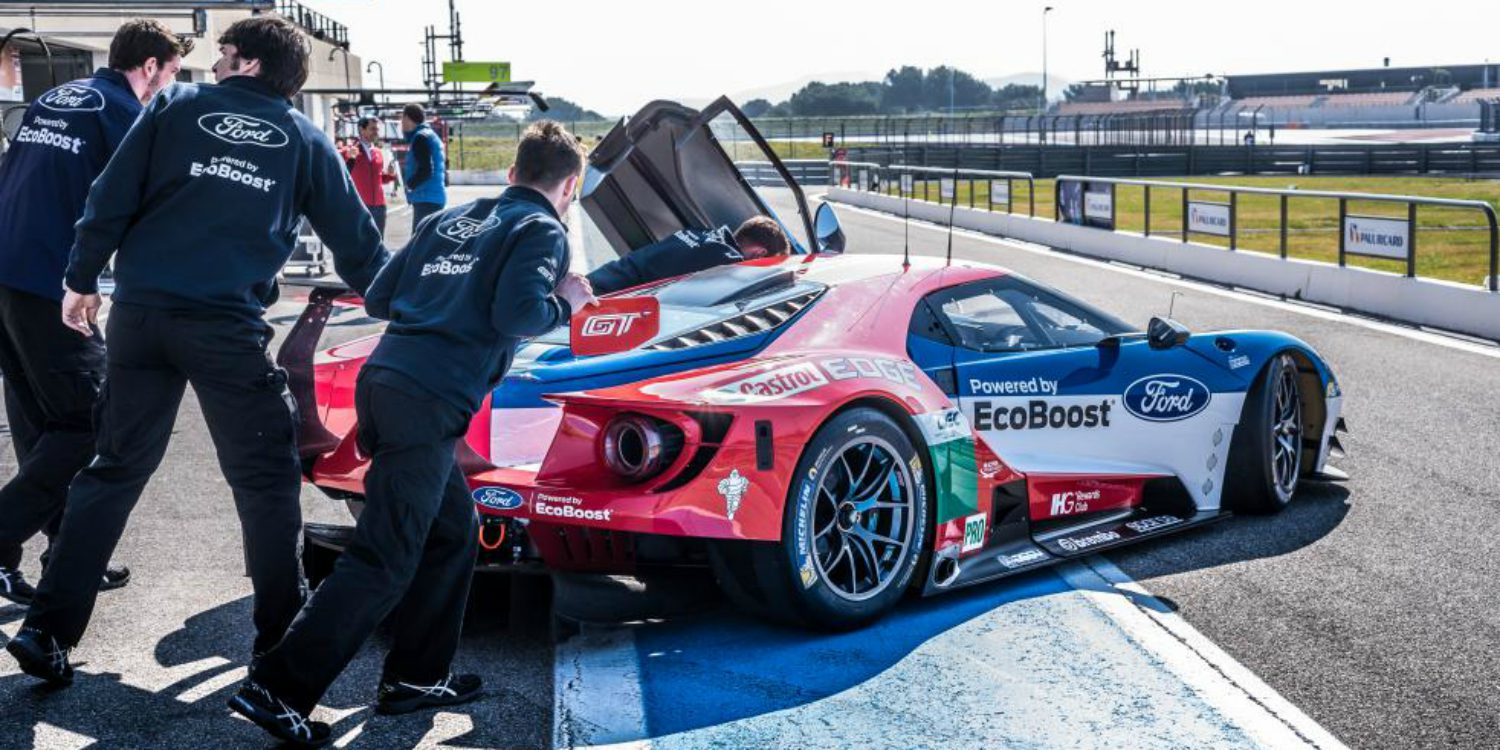 Ford UK confirma sus tríos para Le Mans