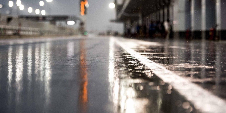 Moto2 y Moto3 se ven frenados por la lluvia