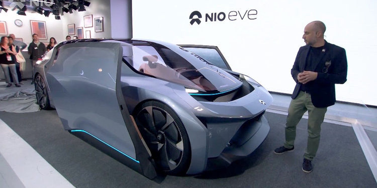 NIO Eve Concept, el revolucionario coche autónomo