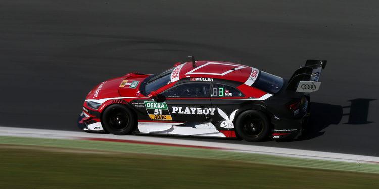 Debut en pista del nuevo Audi RS5 DTM