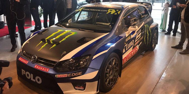 Petter Solberg presenta su Supercoche para 2017