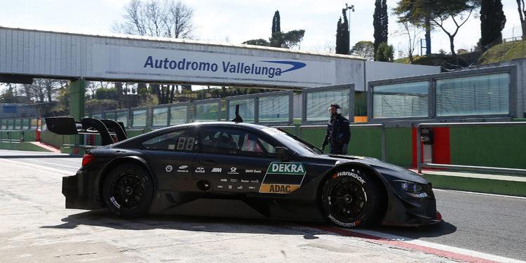 Test con el nuevo BMW M4 DTM en Vallelunga