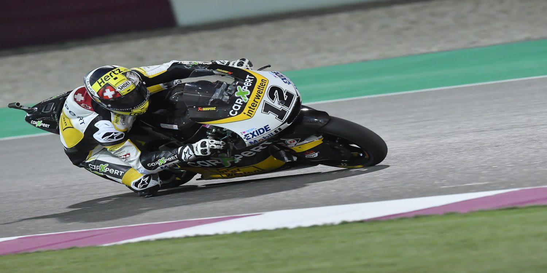Thomas Luthi arranca la temporada como el más rápido en Moto2