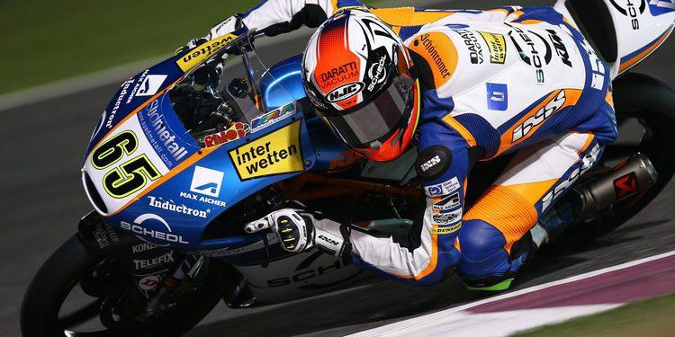 Philipp Oettl, el más rápido in extremis de Moto3