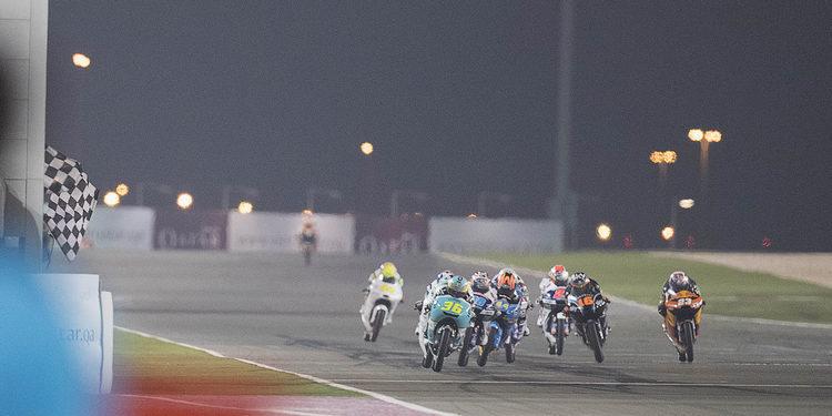 Moto3: Gana el motociclismo
