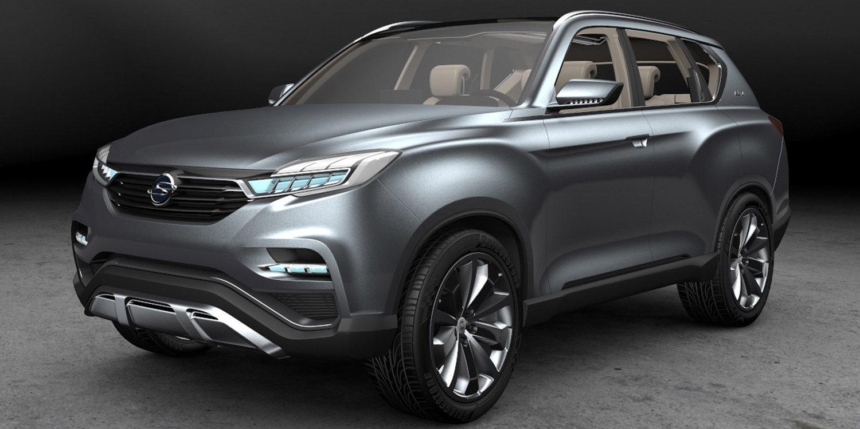 SsangYong Y400, una novedosa SUV que veremos en Abril