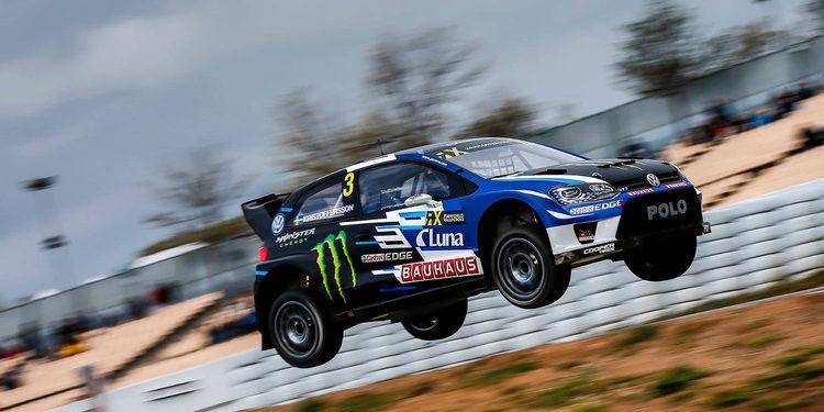 Rallycross Barcelona: Kristoffersson lidera unos locos libres