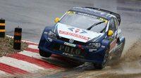 Rallycross Barcelona: Semifinales decididas, Timo Scheider líder indiscutible