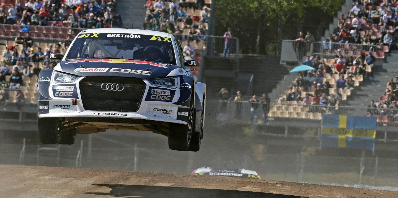 Rallycross Barcelona: Mattias Ekström vuelve a reinar