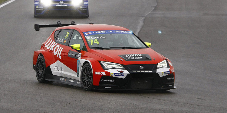 Pepe Oriola consigue una sólida victoria en la segunda carrera de las TCR en Rustavi