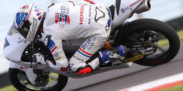 Moto3: Mcphee logra la Pole bajo la lluvia