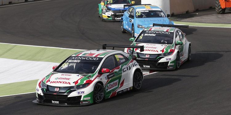 Tiago Monteiro se impone en la carrera principal en Marrakech