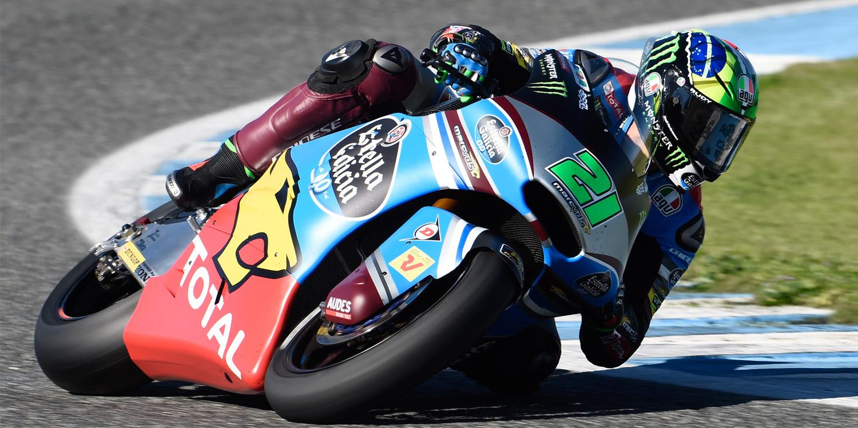 Moto2. Morbidelli domina una categoría 'rota'