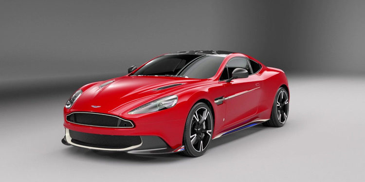 Aston Martin presenta su Vanquish S Red Arrows Edition