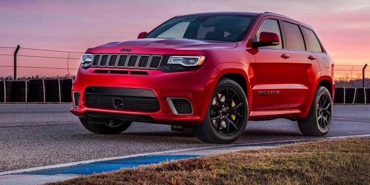 Jeep se realza con el estreno del Grand Cherokee Trackhawk