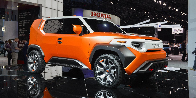 Toyota presentará el FT-4X Concept