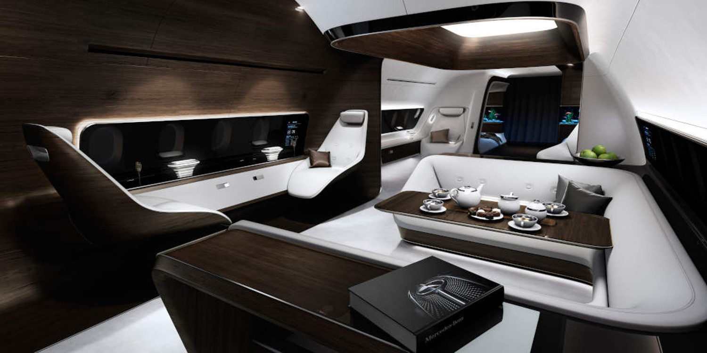 Mercedes Benz Style y Lufthansa Technik crean cabina de lujo VIP