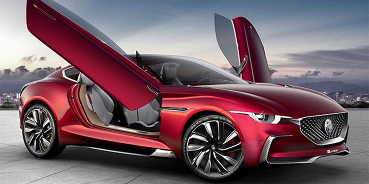 MG E-Motion Concept, el eléctrico más deportivo