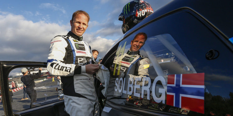 "Petter Solberg: ""Disfruto mucho corriendo en Montalegre"""