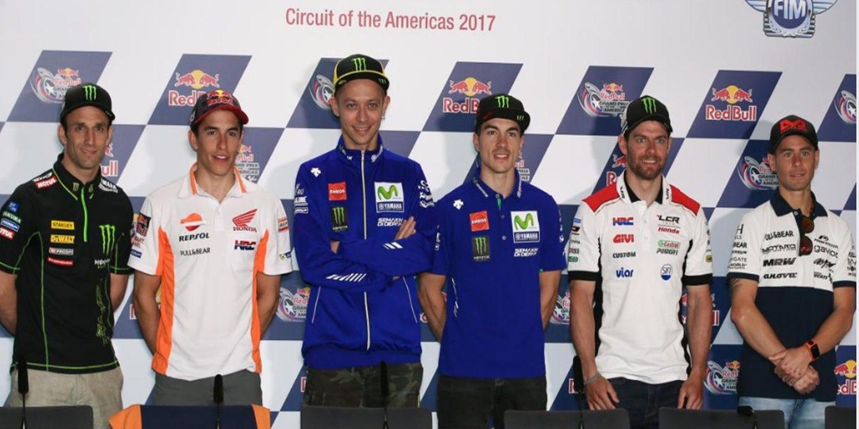 Rueda de prensa del GP de Las Américas