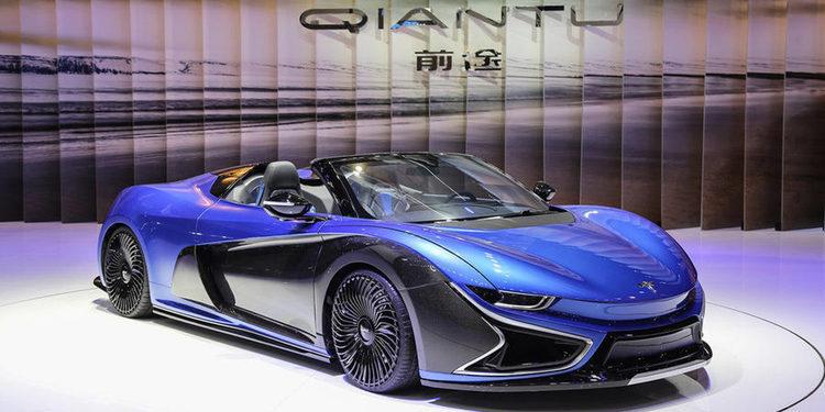Qiantu presenta el K50, el poderoso eléctrico chino