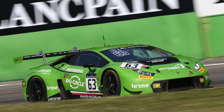 Victoria de Lamborghini en las 3 horas de Monza