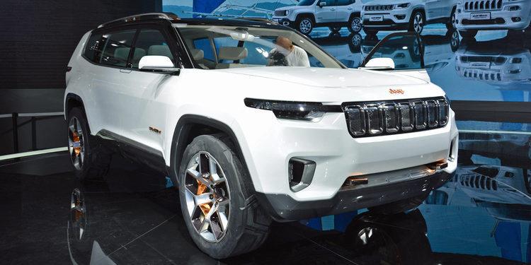 Jeep estrenó el Yuntu, un SUV solo para China