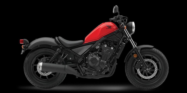 Honda presentó la nueva Rebel 500 2017