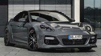Cambio en la línea del Porsche Panamera con el GrandGT de TechArt