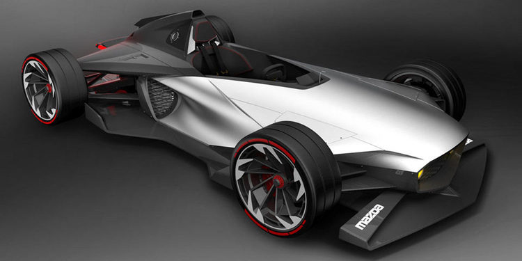 Mazda presenta el FRX 2017, el monoplaza derivado del MX-5