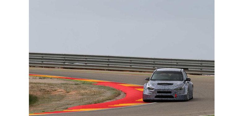 El Hyundai i30, cada vez más cerca de las TCR Series