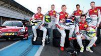 El nuevo Audi RS 5 DTM preparado para su debut en Hockenheim