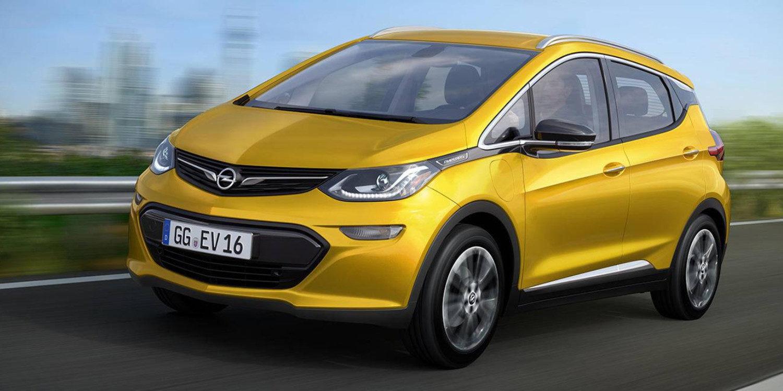 Llegó el Opel Ampera-e 2017, con más autonomía