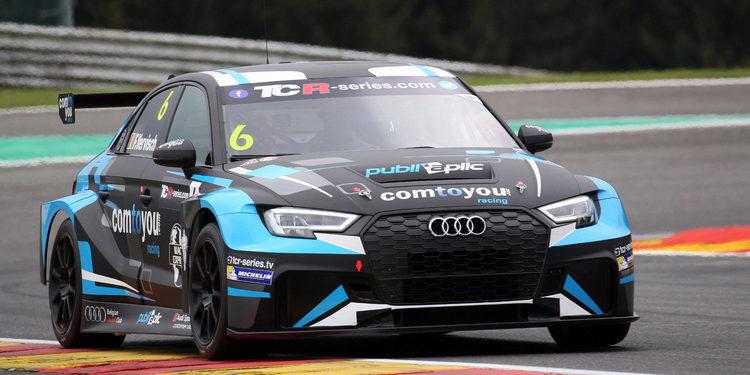 Frédéric Vervisch se adjudica los segundos libres de Spa 'in extremis'