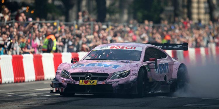 Lucas Auer y Mercedes lideran los segundos entrenamientos de Hockenheim