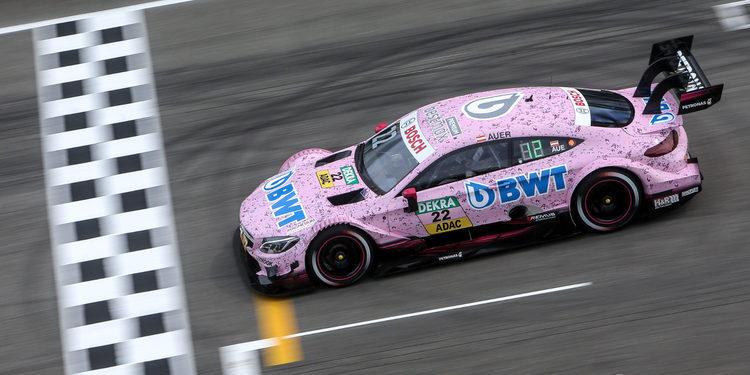 Lucas Auer consigue la primera pole del DTM 2017