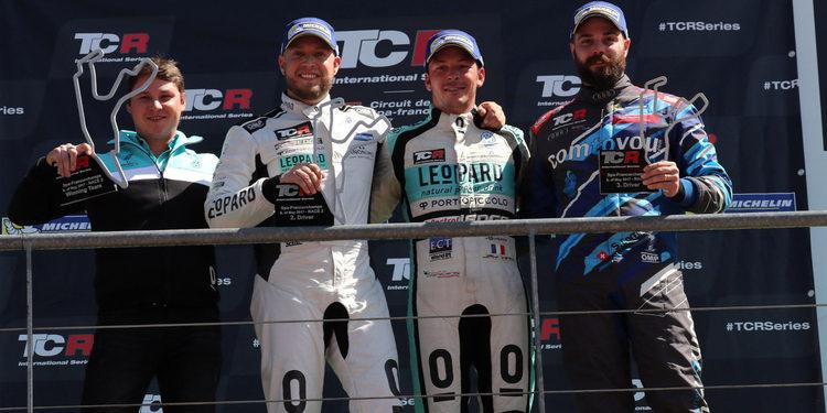 """Robert Huff: """"Ha sido un éxito de Leopard Racing"""""""