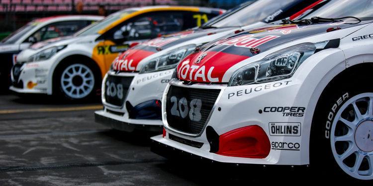 Peugeot Hansen copa la fase clasificatoria mientras Petter Solberg remonta