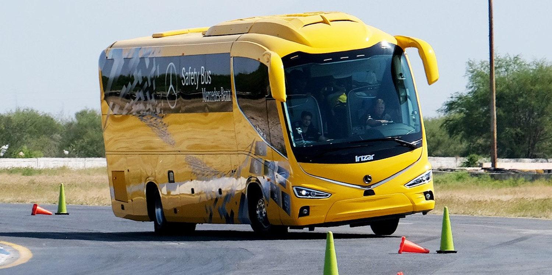 Mercedes-Benz mejora la seguridad en sus autobuses