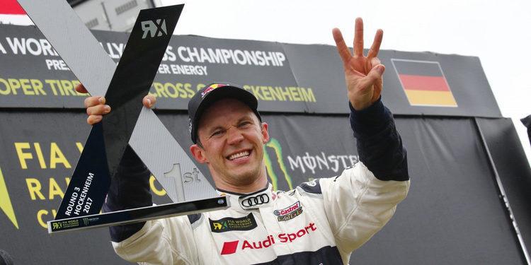 Y Mattias Ekström volvió a ganar