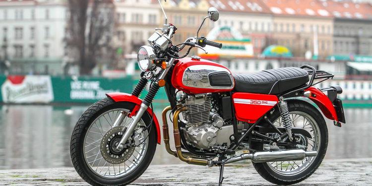 La marca de motociletas JAWA vuelve con la 350 OHC