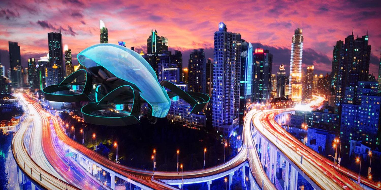Toyota prepara un coche volador para las olimpiadas de Tokio 2020