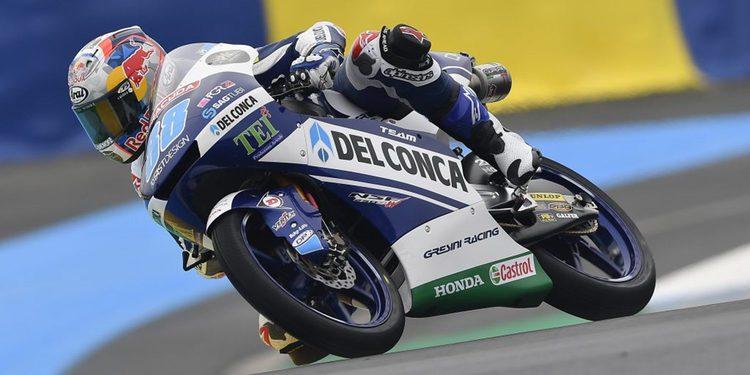 Moto3. Martín logra la Pole tras sanción a Bulega