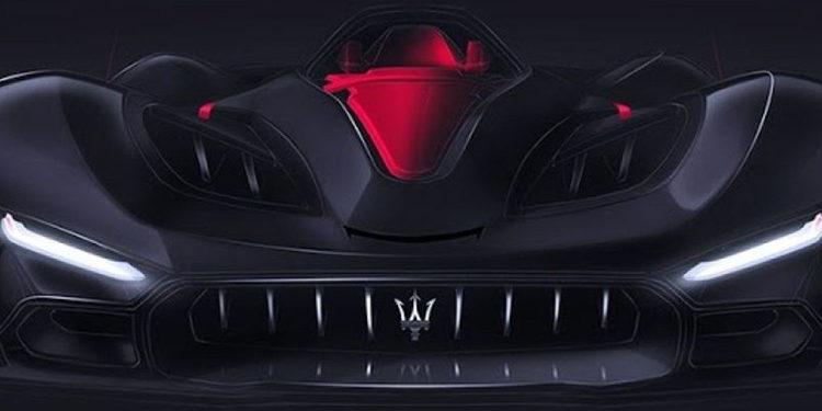 Maserati presenta su idea de un superdeportivo