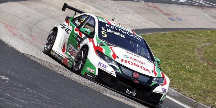 Norbert Michelisz lidera los Entrenamientos Libres 1 en Nürburgring