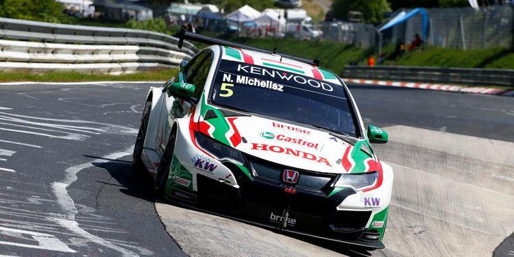 Norbert Michelisz se hace con la 'pole' en Nürburgring Nordschliefe