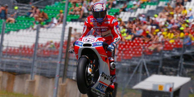 """Andrea Dovizioso: """"No somos rápidos a mitad de curva"""""""