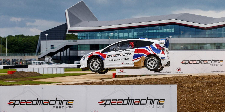 Circuito De Silverstone : Presentado el circuito de rallycross de silverstone para 2018